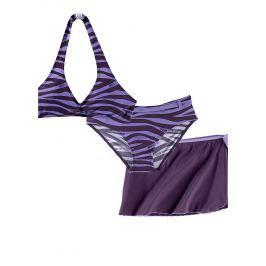 Bikini+szoknya (3-részes szett) bonprix