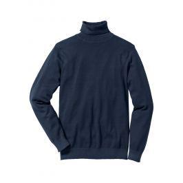 Garbó nyakú pulóver Regular Fit bonprix