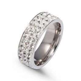 Gyűrű csillogó kövekkel bonprix