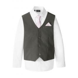 Mellény+ing+nyakkendő (3-részes szett) bonprix