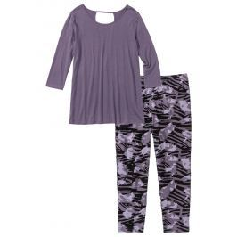 Capri pizsama legginggel bonprix