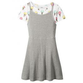Póló+ruha (2-részes szett) bonprix