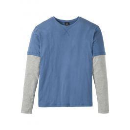 2-az-1-ben hosszú ujjú póló Regular Fit bonprix
