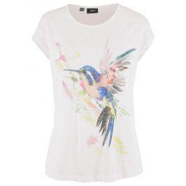 Póló akvarell madár mintázattal bonprix