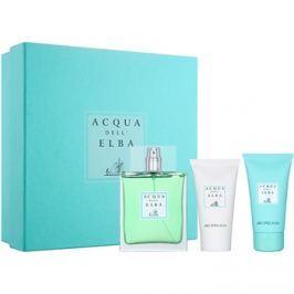 Acqua dell' Elba Arcipelago Men ajándékszett III.  Eau de Toilette 100 ml + tusfürdő gél 50 ml + testápoló krém 50 ml
