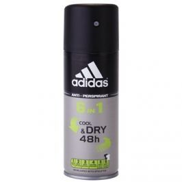 Adidas 6 in 1 Cool & Dry dezodor férfiaknak 150 ml