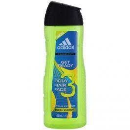 Adidas Get Ready! tusfürdő férfiaknak 400 ml 3 az 1-ben