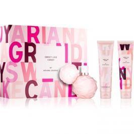 Ariana Grande Sweet Like Candy ajándékszett III.  Eau de Parfum 100 ml + testápoló krém 100 ml + tusoló- és fürdő olaj 100 ml