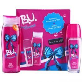 B.U. My Secret ajándékszett I.  spray dezodor 75 ml + tusfürdő gél 250 ml