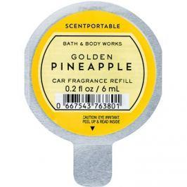 Bath & Body Works Golden Pineapple illat autóba 6 ml utántöltő