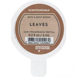 Bath & Body Works Leaves illat autóba 6 ml utántöltő