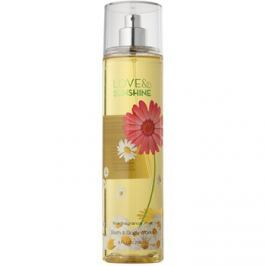 Bath & Body Works Love and Sunshine testápoló spray nőknek 236 ml