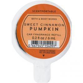 Bath & Body Works Sweet Cinnamon Pumpkin illat autóba 6 ml utántöltő