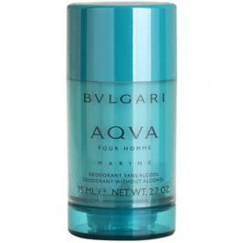 Bvlgari AQVA Marine Pour Homme stift dezodor férfiaknak 75 ml