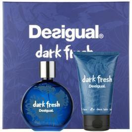 Desigual Dark Fresh ajándékszett I.  Eau de Toilette 100 ml + borotválkozás utáni balzsam 100 ml