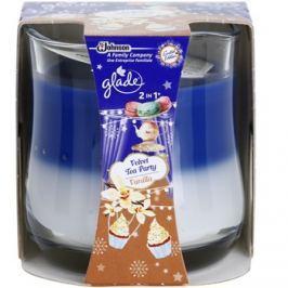 Glade Velvet Tea Party and Vanilla 2 in 1 illatos gyertya  135 g