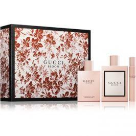 Gucci Bloom ajándékszett III.  Eau de Parfum 100 ml + testápoló tej 100 ml + roll-on eau de parfum 7,4 ml