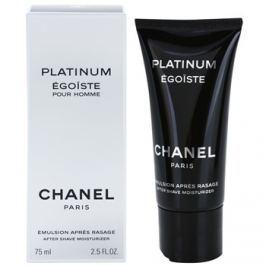 Chanel Egoiste Platinum borotválkozás utáni emulzió férfiaknak 75 ml