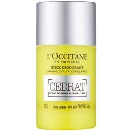 L'Occitane Cedrat golyós dezodor férfiaknak 75 g