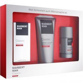 Marbert Man Classic Sport ajándékszett I.  Eau de Toilette 50 ml + tusfürdő gél 200 ml + stift dezodor 75 ml