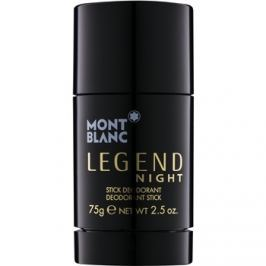 Montblanc Legend Night stift dezodor férfiaknak 75 g
