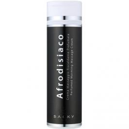 S.A.C.K.Y. Afrodisiaco illatosított melegítő masszázskrém unisex 200 ml