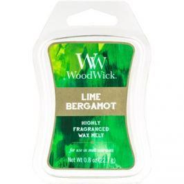 Woodwick Lime Bergamot illatos viasz aromalámpába 22,7 g