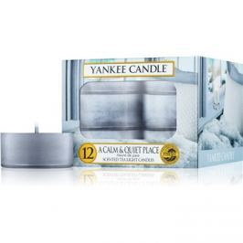 Yankee Candle A Calm & Quiet Place teamécses 12 x 9,8 g