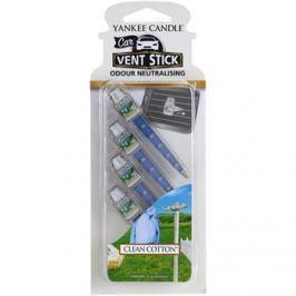 Yankee Candle Clean Cotton illat autóba 4 db