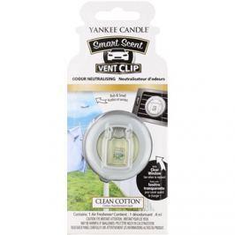 Yankee Candle Clean Cotton illat autóba 4 ml clip