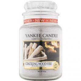 Yankee Candle Crackling Wood Fire illatos gyertya  623 g Classic nagy méret