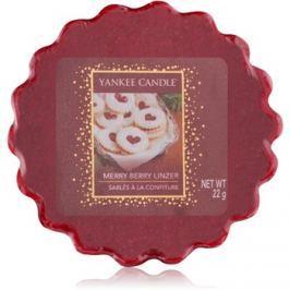 Yankee Candle Merry Berry Linzer illatos viasz aromalámpába 22 g