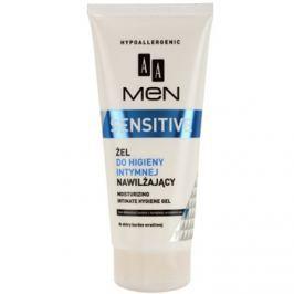 AA Cosmetics Men Sensitive gél az intim higiéniára hidratáló hatással  200 ml