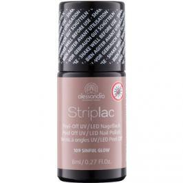 Alessandro Striplac lehúzható UV/LED körömlakk árnyalat 109 Sinful 8 ml