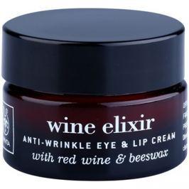 Apivita Wine Elixir Red Wine & Beeswax krém a szem és a száj ráncaira  15 ml