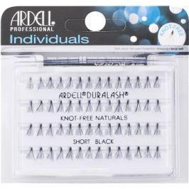 Ardell Individuals Csomómentes elválasztott szempillák Short Black