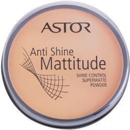 Astor Mattitude Anti Shine mattító púder árnyalat 003 Nude Beige  14 g