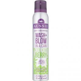 Aussie Wash+ Blow Kool Kiwi Berry száraz sampon  180 ml