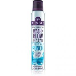 Aussie Wash+ Blow Tropical Punch száraz sampon  180 ml