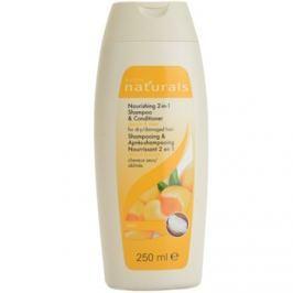 Avon Naturals Hair Care tápláló sampon és kondicionáló száraz és sérült hajra  250 ml