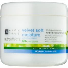 Avon True NutraEffects nyugtató hidratáló krém arcra és testre  400 ml