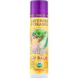 Badger Classic Lavender & Orange ajakbalzsam  4,2 g