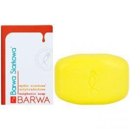 Barwa Sulphur parfümös szappan zsíros és problémás bőrre  100 g