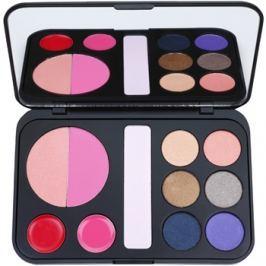 BHcosmetics Forever Glam dekoratív kozmetikumok választéka tükörrel  22 g