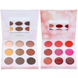 BHcosmetics Shaaanxo szemhéjfesték és rúzs paletta  24 g