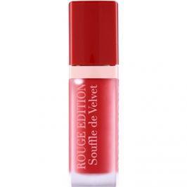 Bourjois Rouge Edition Souffle de Velvet folyékony rúzs árnyalat 07 Plum Plum Pidou  7,7 ml