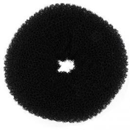 BrushArt Hair Donut fekete kontyfánk  (8 cm)