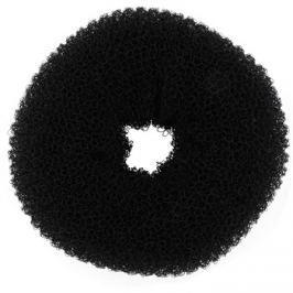 BrushArt Hair Donut fekete kontyfánk  (10 cm)