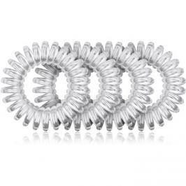 BrushArt Hair Rings szilikonos hajgumi  Clear 4 db