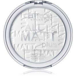 Catrice All Matt Plus mattító púder árnyalat 001 Universal 10 g
